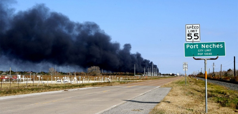 Port Neches: Texas chemical plant blasts lead to evacuation order